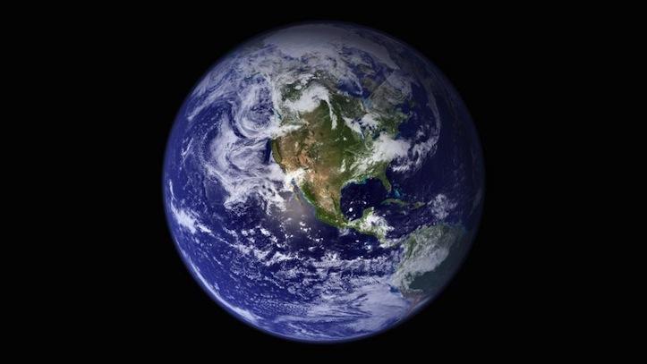 「iPhone」の標準壁紙にある「地球」の写真は合成だった!
