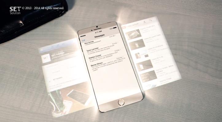 Hologram iPhone