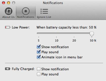 Ibettercharge settings