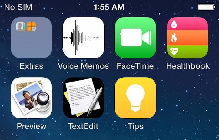 iOS8 screenshots