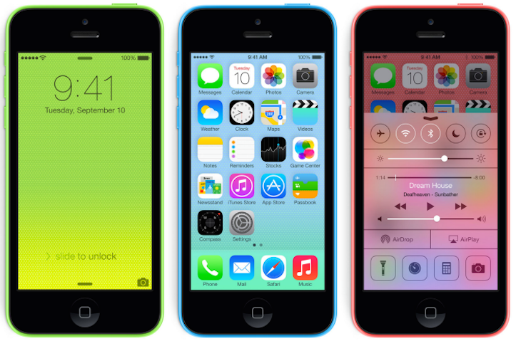 iPhone 5c 8gb model