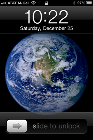 iPhone default lockscreen wallpaper