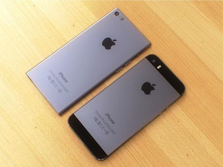 角ばったiPhone 6のコンセプトイメージ