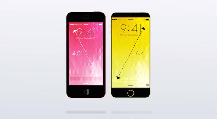 iPhone 6c Concept Image