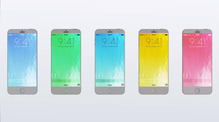 iPhone 6c Concept Image