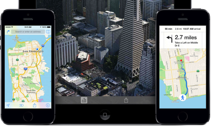 Maps for Apple