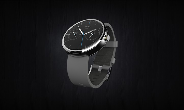 Moto360 leather