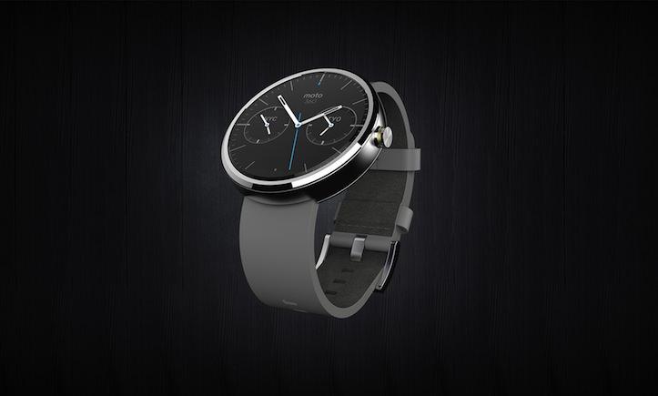 Moto360 leather