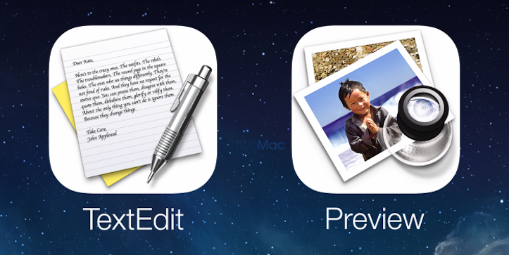 Preview of TextEdit on iOS8