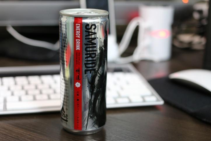SAMURIDE ENERGY DRINK