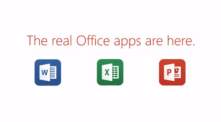 Microsoft Office for iPadリリース