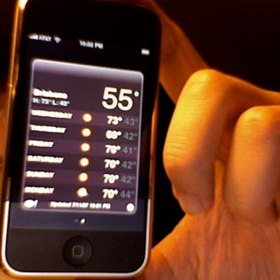 weather-on-iphone