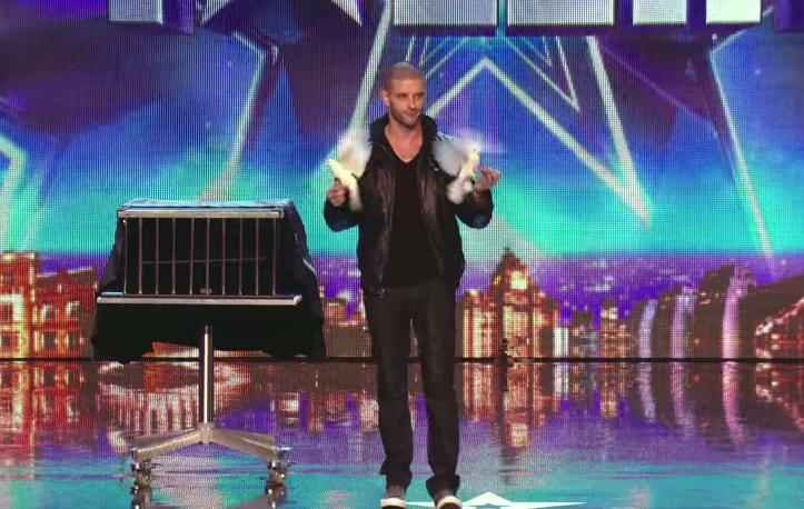 Amazing magician
