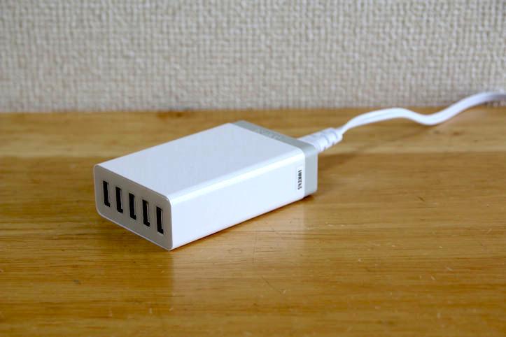 Anker 40W 5ポート USB急速充電器 ACアダプタ