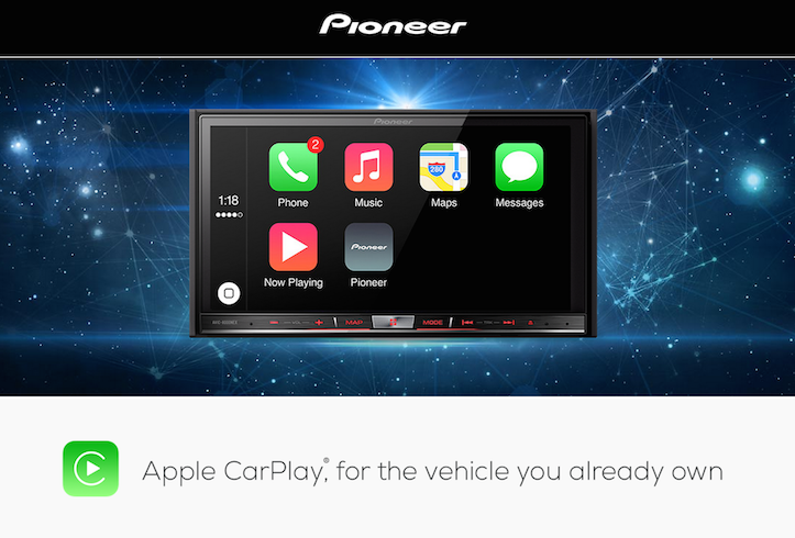 Carplay pioneeer