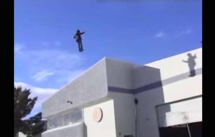 Criss Angel levitation