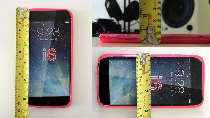 Dimensions of iphone 6