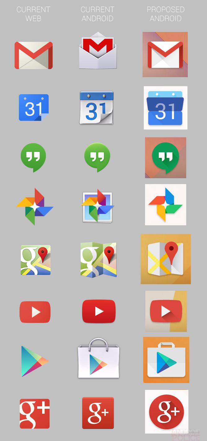 Google new icons 2