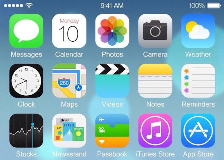 iOS8のスクリーンショットがリーク?