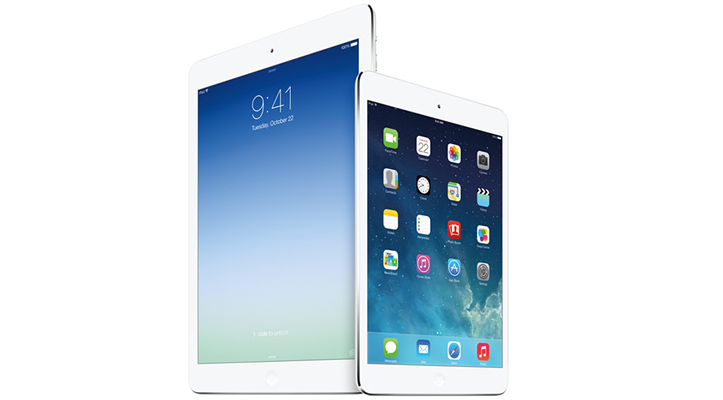 ipad air and mini retina