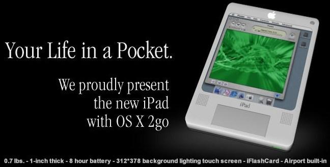 iPad concept