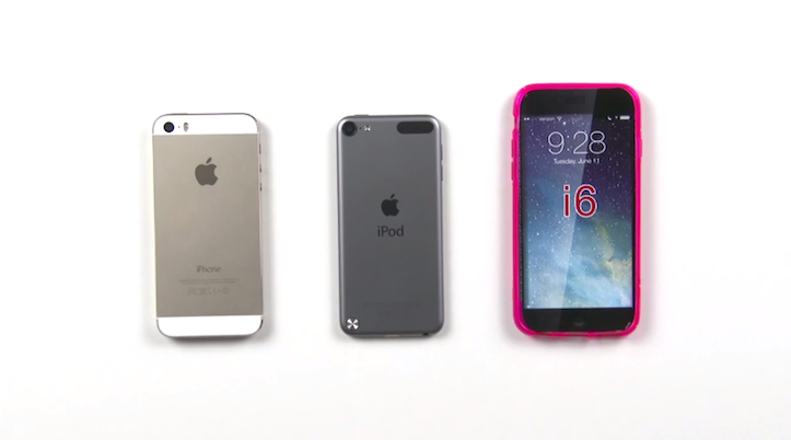 iPhone 6の厚さはiPod touchと同じ?!