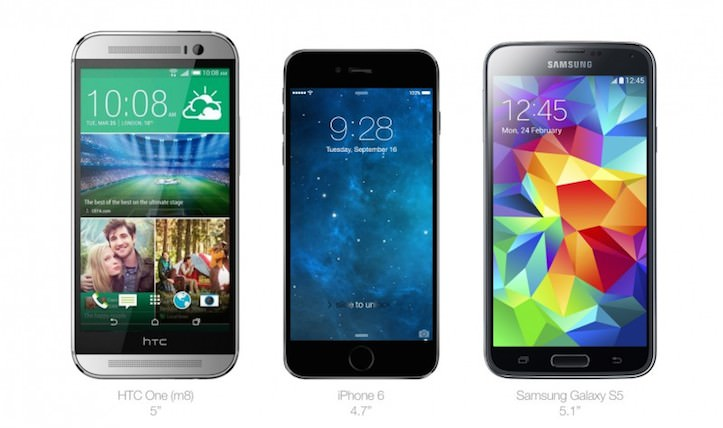 iPhone 6 other phone comparison 1
