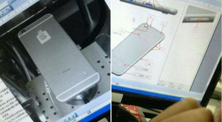 iPhone 6のプロトタイプ
