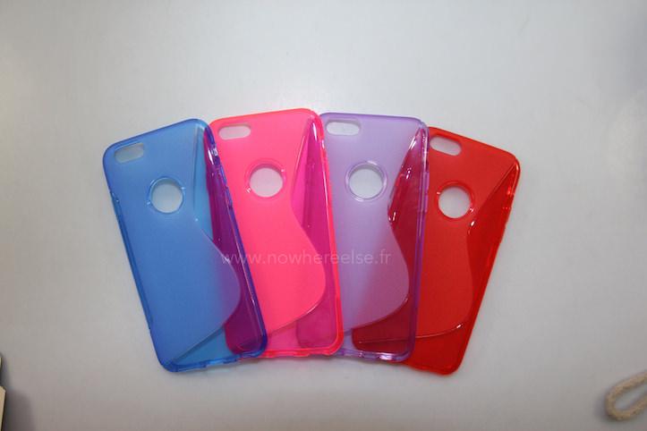 iPhone6用シリコンケース