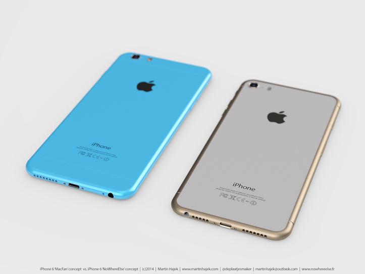 Iphone6s iphone6c concept image
