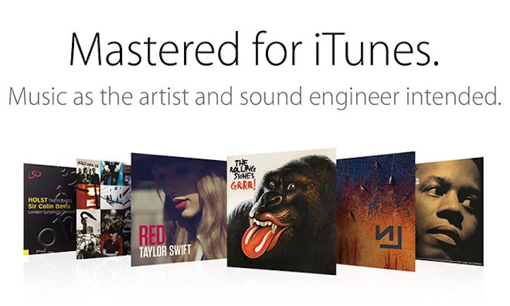 iTunes high resolution