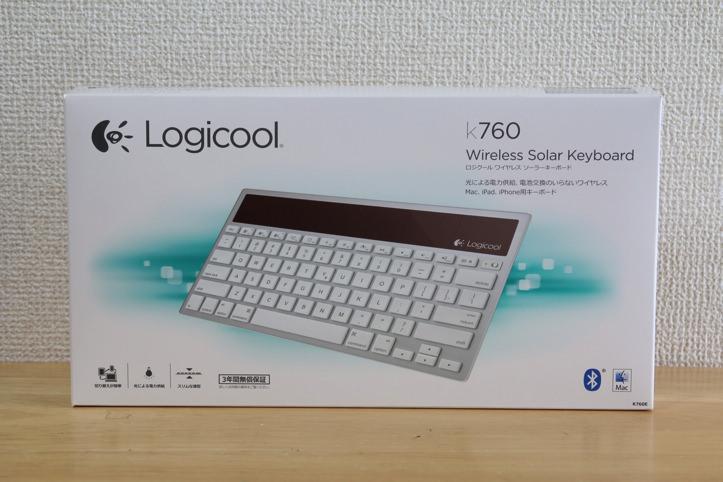 Logicool k760 wireless solar keyboard