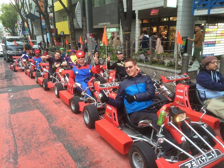 Mario Cart Shibuya