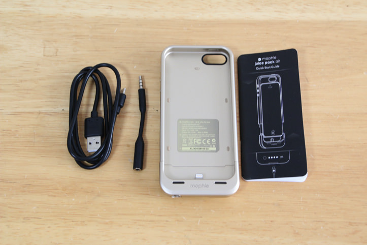 Mophie juice pack airバッテリケース for iPhone 5/5s