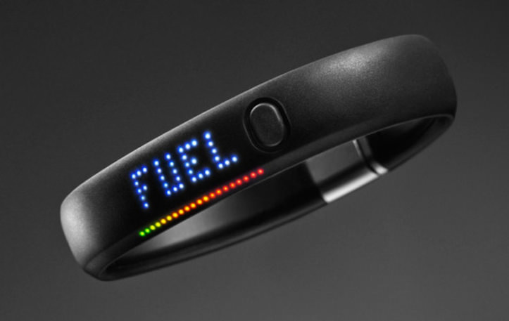 Nike fuelband thumb