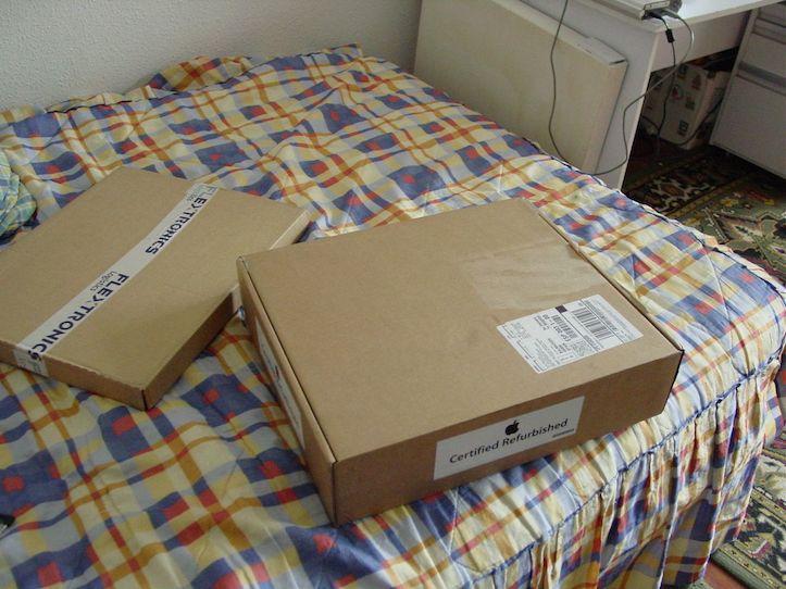 Refurbished apple package