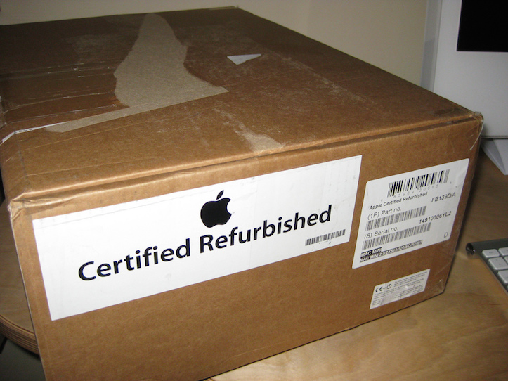 Refurbished Apple Products