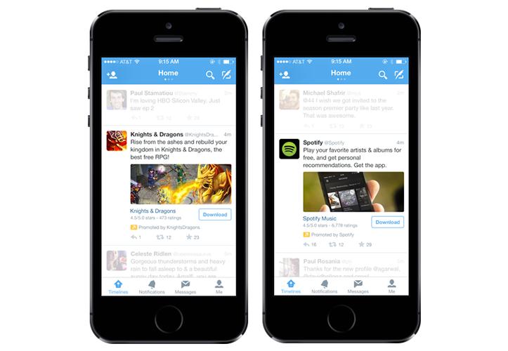 Twitter timeline app