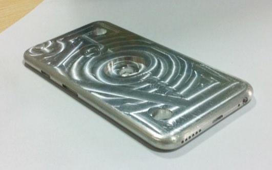 ケースメーカー用アルミ金型の写真