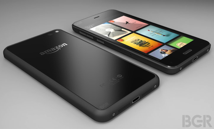 Amazon smartphone design