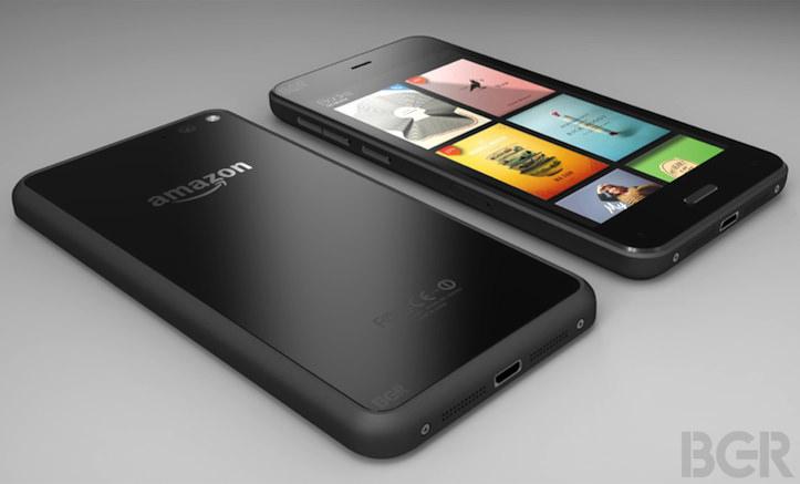 Amazon smartphone design