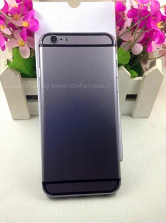 iPhone 6(スペースグレーモデル)