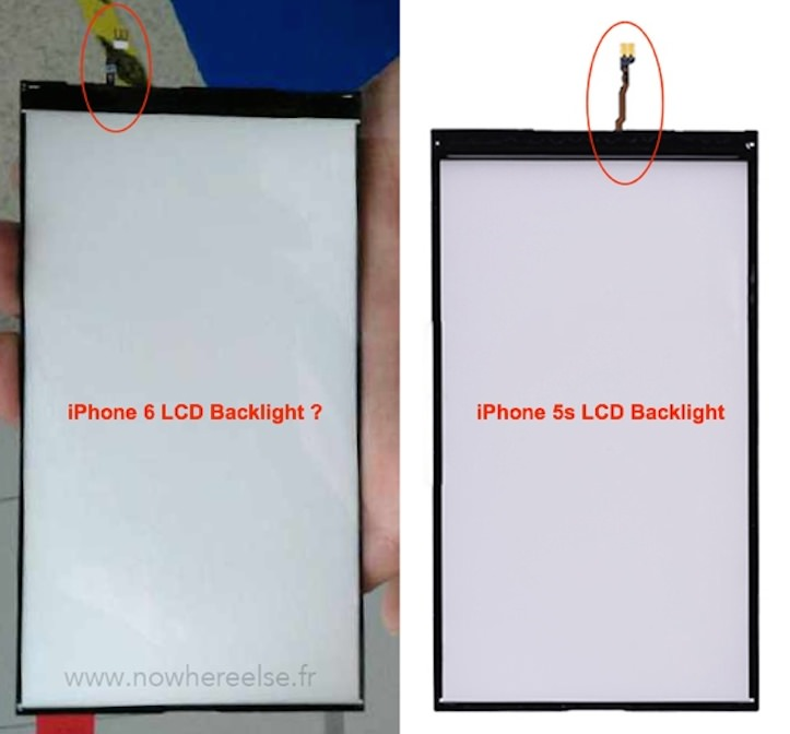iPhone 6用バックライトパネル
