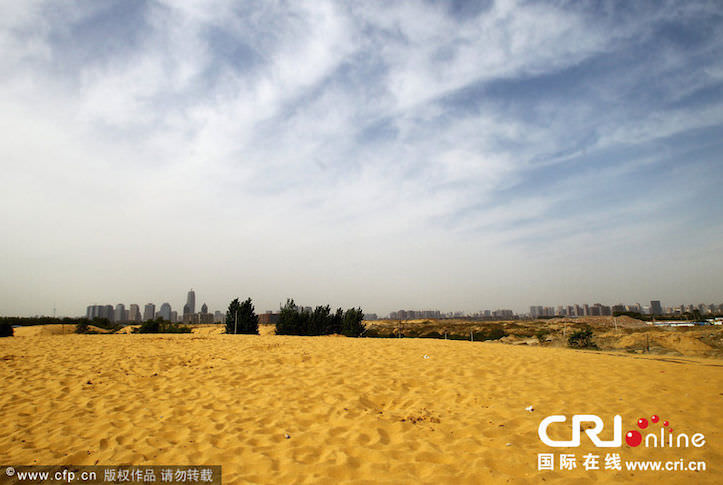 China tries to make lake but ends in desert