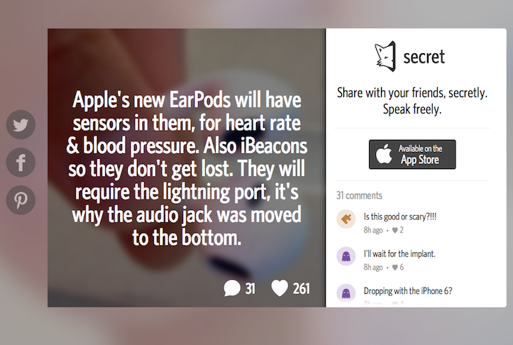 earpods sensors