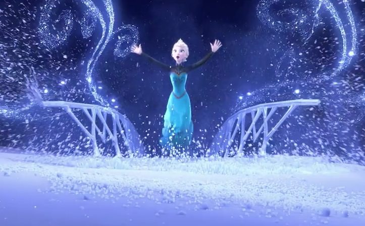 Frozen let it go