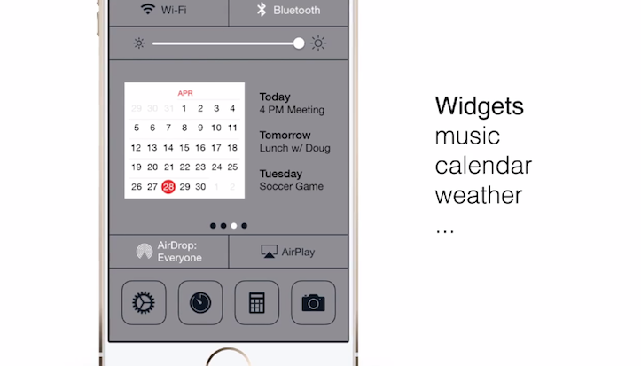 iOS 8 concept features
