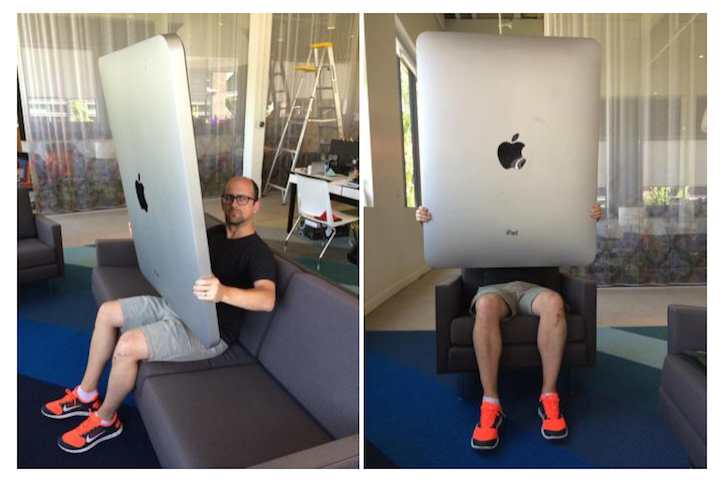 iPad Pro Spotted in the Wild
