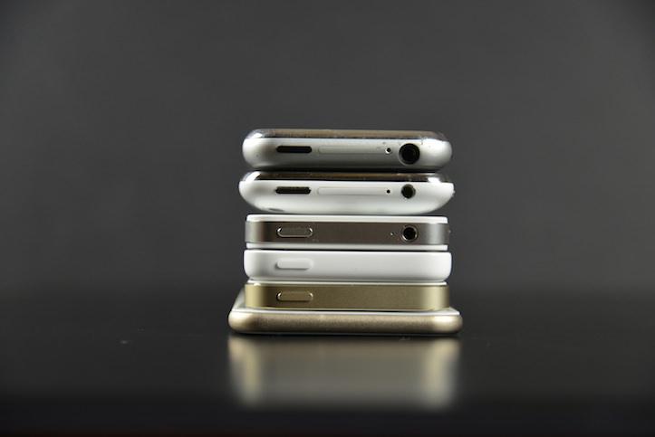 iPhhone 6 comparison previous models