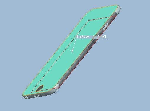 iPhone 6 CAD photo